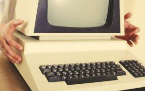 Vanaaegne sülearvuti